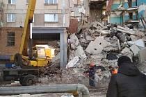 Exploze obytného domu v Magnitogorsku