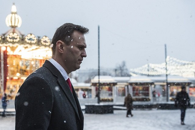 Opoziční aktivista Alexej Navalnyj