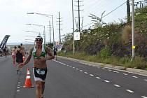 Filip Ospalý na Ironmanu na Havaji.