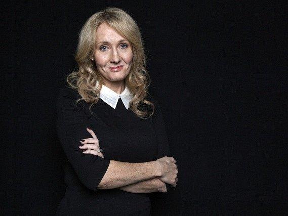 Britská spisovatelka J.K. Rowlingová.