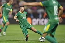 Z vítězství v prvním zápase s Kluží se radovala Slavia