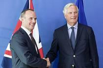 Dominic Raab, Michel Barnier