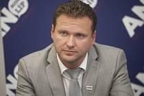 Místopředseda klubu ANO Radek Vondráček