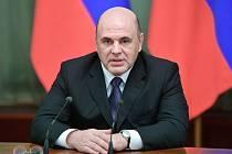 Ruský premiér Michail Mišustin