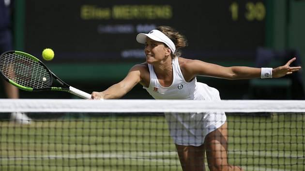 Česká tenistka Barbora Strýcová.