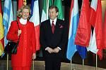 Václav Havel v europarlamentu