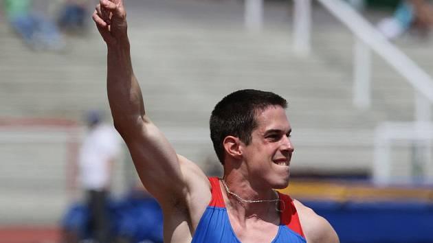 Ostravský sprinter Lukáš Milo, třetí nejrychlejší atlet české historie.