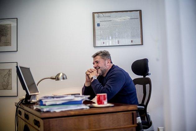 Advokát Jan Kalvoda.