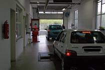 STK čili stanice technické kontroly. Ilustrační foto