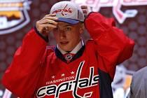 Jakuba Vránu získal při draftu NHL jako třináctého Washington.