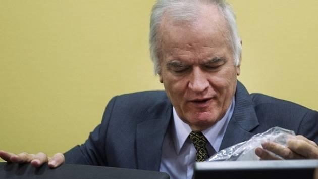 Souzený Ratko Mladic