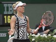 Angelique Kerberová vypadla na Roland Garros už v prvním kole.