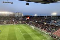 Atmosféra na utkání Sparta - Rangers