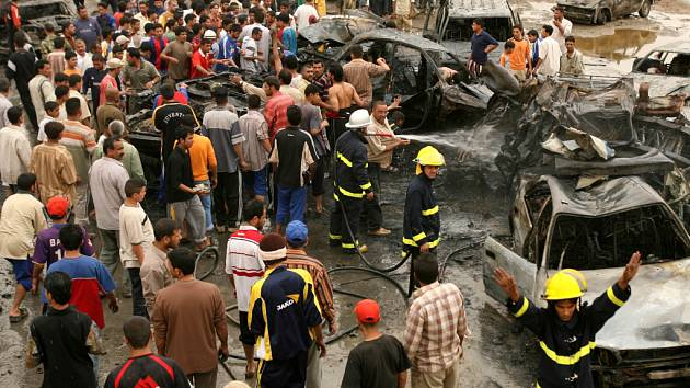 Lidé z Iráku prchají hlavně před násilím.