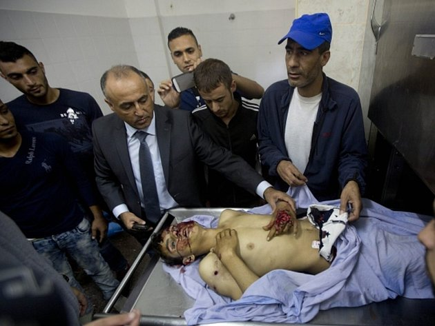 Členové izraelské hlídky dnes zastřelili Palestince, který se s nožem v ruce blížil k jejich stanovišti na přechodu mezi okupovaným Západním břehem Jordánu a Izraelem.