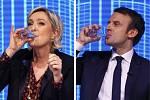 Postup Marine Le Penové do druhého kola proti Emmanuelu Macronovi bouře nevyvolalo. Jiné to bylo před patnácti lety s jejím otcem Jean-Maria Le Penem.