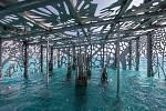 Podvodní galerie Coralarium na Maledivách