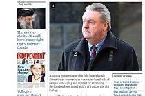 Článek o Jamesi McCormickovi v internetové verzi deníku Independent