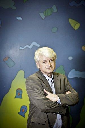 Výkonný ředitel dětského celoplošného kanálu České televize režisér Petr Koliha.