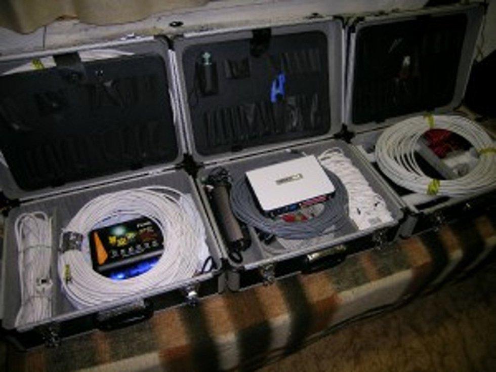 Skupina používá také i citlivé kamerové systémy řady IR a IP kamer s nočním viděním, což je nezbytné pro práci s entitami a umožňují záznam entity viditelný v IR spektru.