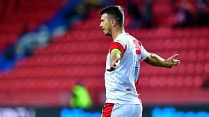 Fotbalista Slavia Praha Ondřej Kúdela.