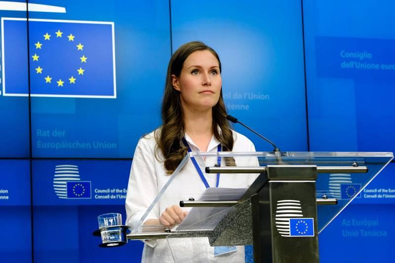 Finská premiérka Sanna Marinová