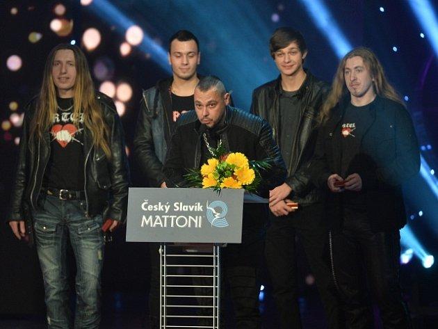 Druhé místo mezi skupinami získala kapela Ortel.