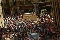 Cyklistický etapový závod Vuelta.