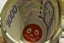 Peníze. Ilustrační snímek