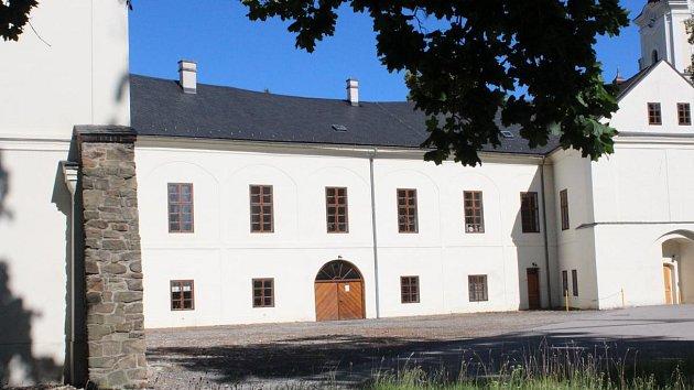 Zámek Hlučín. Ilustrační snímek