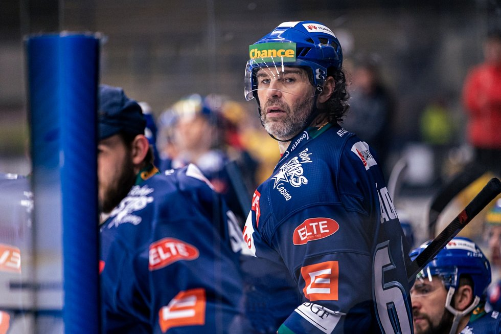 Jaromír Jágr pokračuje v hokejové kariéře