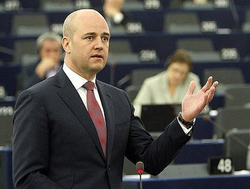 Švédský premiér Fredrik Reinfeldt