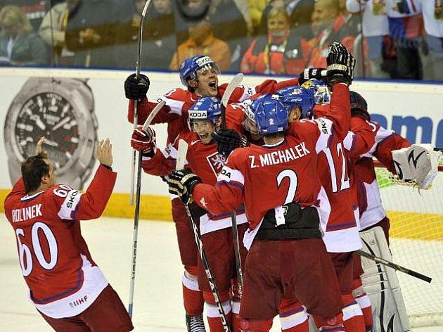 Čeští hokejisté vybojovali na MS bronzové medaile.