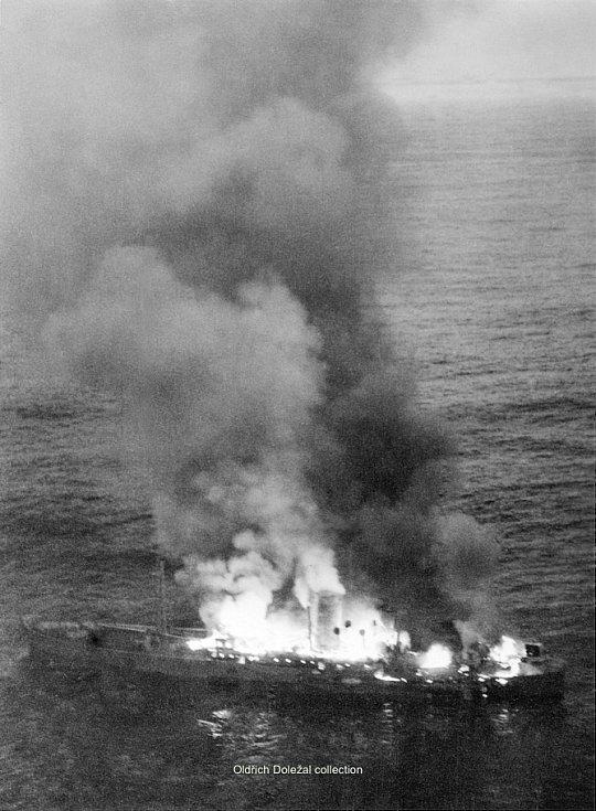 Potopení německé lodi Alsterufer