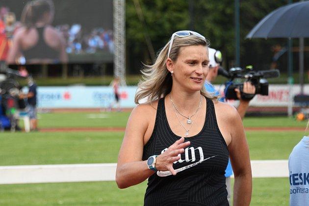 Barbora Špotáková na MČR v Kladně