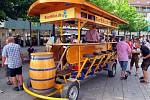 Pojízdnou restauraci budou pohánět její návštěvníci. Ilustarční foto.