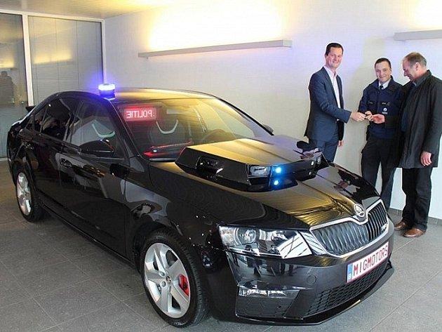 Belgická policie si pořídila Octavii RS se zvláštní výbavou.