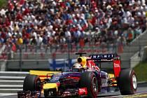 Sebastian Vettel ve Velké ceně Rakouska