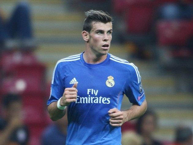 Hvězda Realu Madrid Gareth Bale.