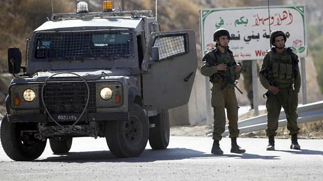 Izraelská vojenská hlídka - ilustrační foto
