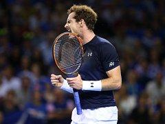 Andy Murray zajistil Britům po 35 letech finále Davis Cupu.