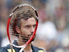 Ernests Gulbis na Roland Garros.