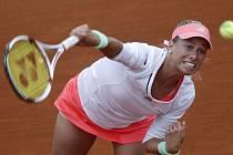 Andrea Sestini Hlaváčková na French Open.