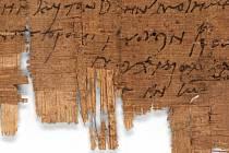 Vědci identifikovali nejstarší známý křesťanský soukromý dopis. Papyrusový svitek pochází z počátku 3. století