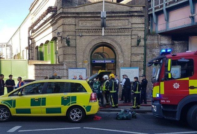V londýnském metru došlo k výbuchu.