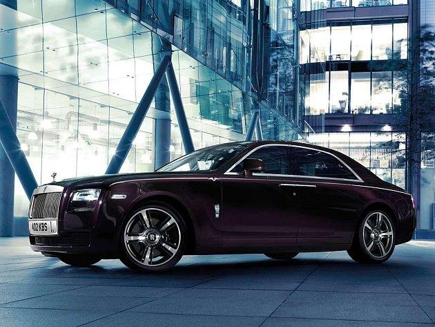 Rolls-Royce Ghost.