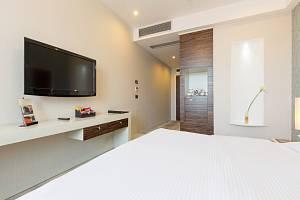 Hotelový pokoj s televizí