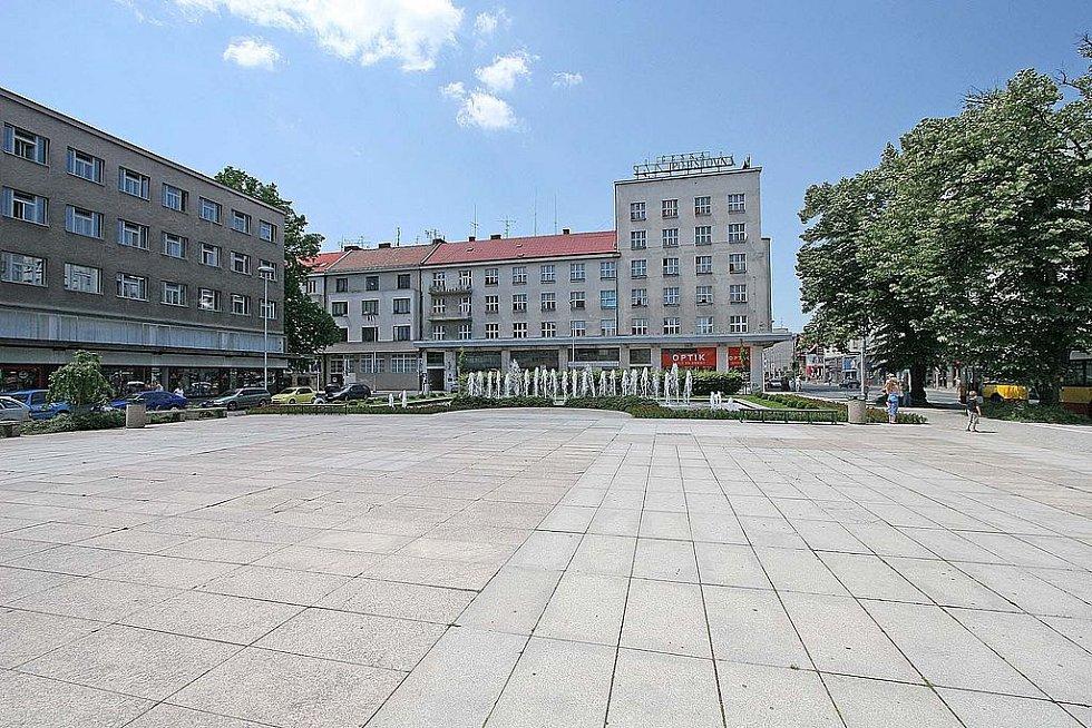 Ulrichovo náměstí v Hradci Králové