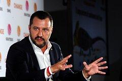 Italský ministr vnitra a vícepremiér Matteo Salvini