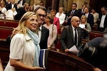Katalánský parlament.